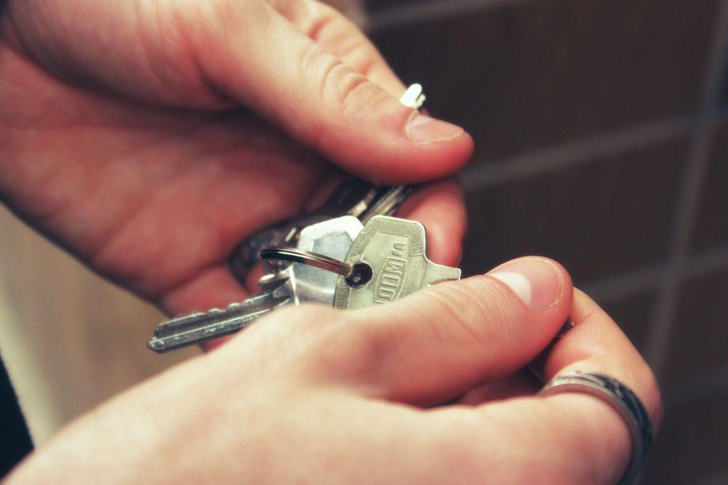 clefs maison